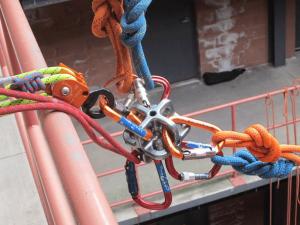 Tecnología de seguridad para trabajos verticales